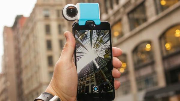 """الكشف عن """"Giroptic iO"""" الكاميرا بدقة 360 درجة لهواتف آيفون"""