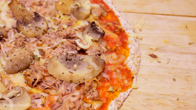 receta fitpizza fit light pizza recipe