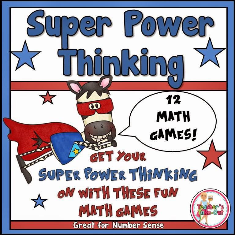 Super Power Thinking Games_super zebra