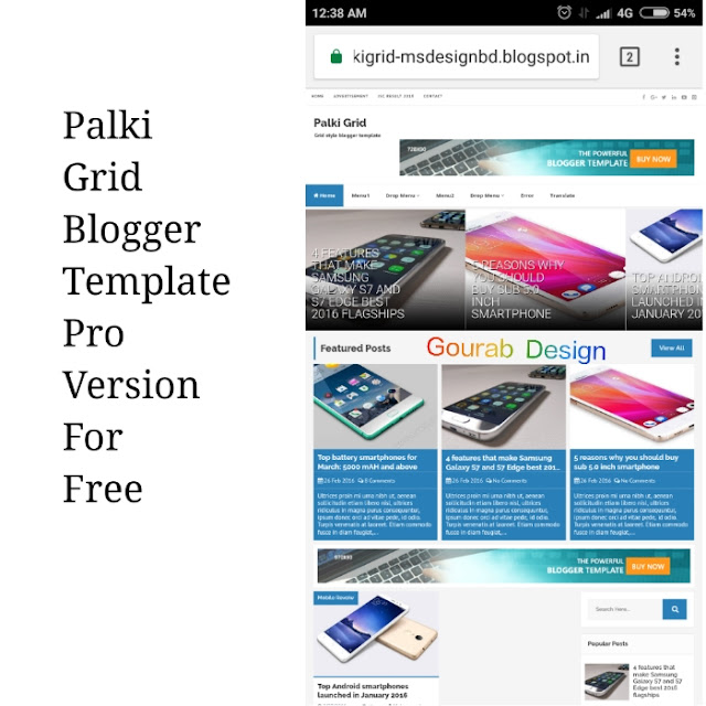 palki grid blogget template