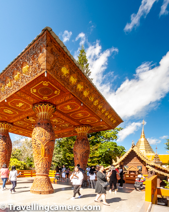 Related post - Top 10 things to do & Travel Hacks for Chiang Mai City of Thailand    Wat Phra That Doi Suthep is named after the mountain where this temple is situated. Doi means Mountain in Thai. This temple is very important place for Thia people and situated approximately 15 km from Chiang Mai City in North Thailand.
