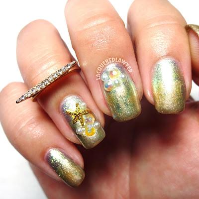 Starfish Starlight Nails
