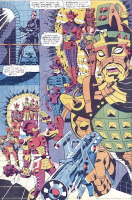 Captain Britain #3, SHIELD