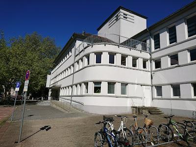 Fassade Bürgerbadepark Braunschweig
