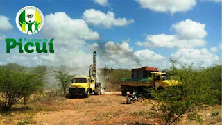 Prefeitura de Picuí perfura poço e vazão chega a 4mil litros/hora