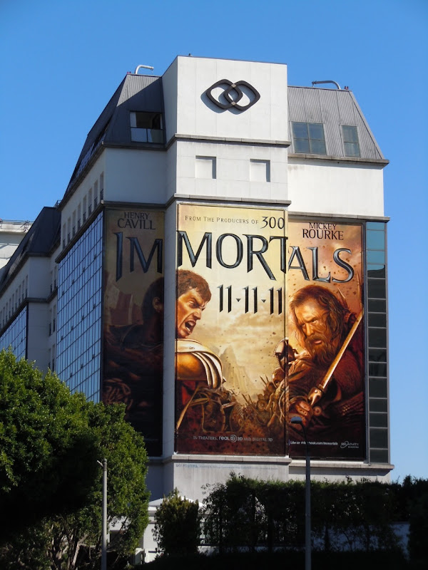 Giant Immortals movie billboard