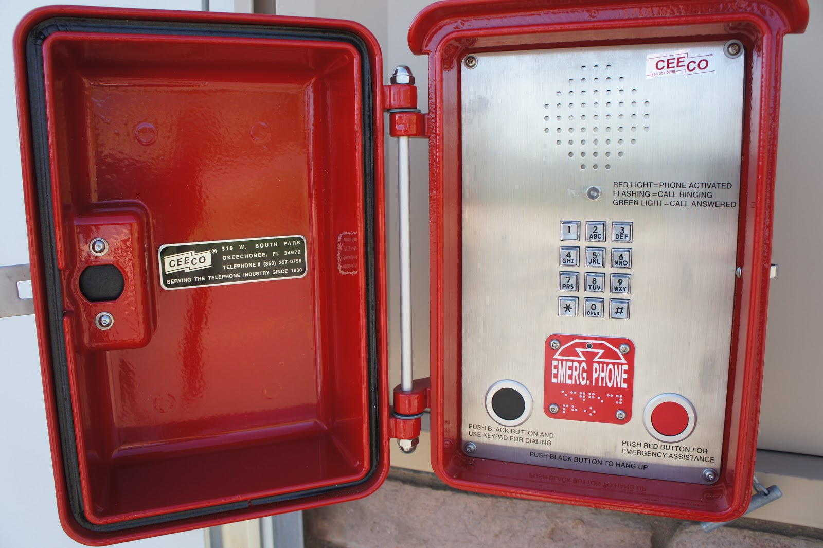 Inter Canyon Fire Rescue Emergency Call Boxes In Inter