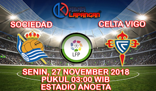 Prediksi Bola Real Sociedad vs Celta Vigo 27 November 2018