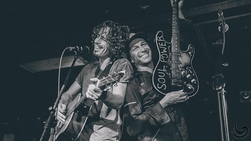 Tom Morello dan Chris Cornell