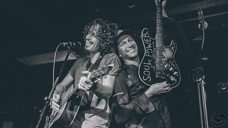 Tom Morello dan Chris Cornell