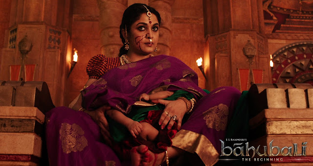 Baahubali Movie Posters Ramya Krishnan