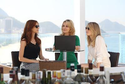 Representando a produção nacional, atrizes da série participam do evento no sábado às 14h - Divulgação/HBO