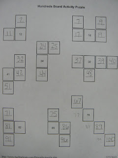 Mrs. T's First Grade Class: Number Puzzles