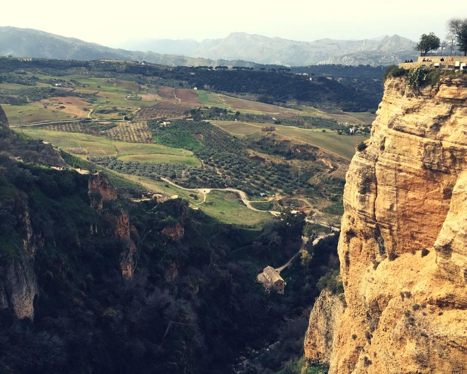 Maisemaa Rondassa Espanjassa