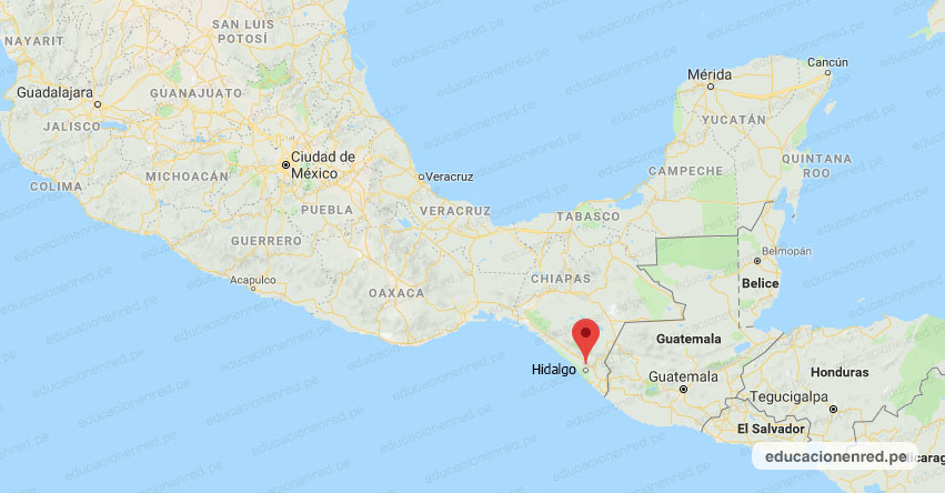 Temblor en México de Magnitud 4.2 (Hoy Miércoles 20 Noviembre 2019) Sismo - Epicentro - CD. Hidalgo - Chiapas - CHIS. - SSN - www.ssn.unam.mx