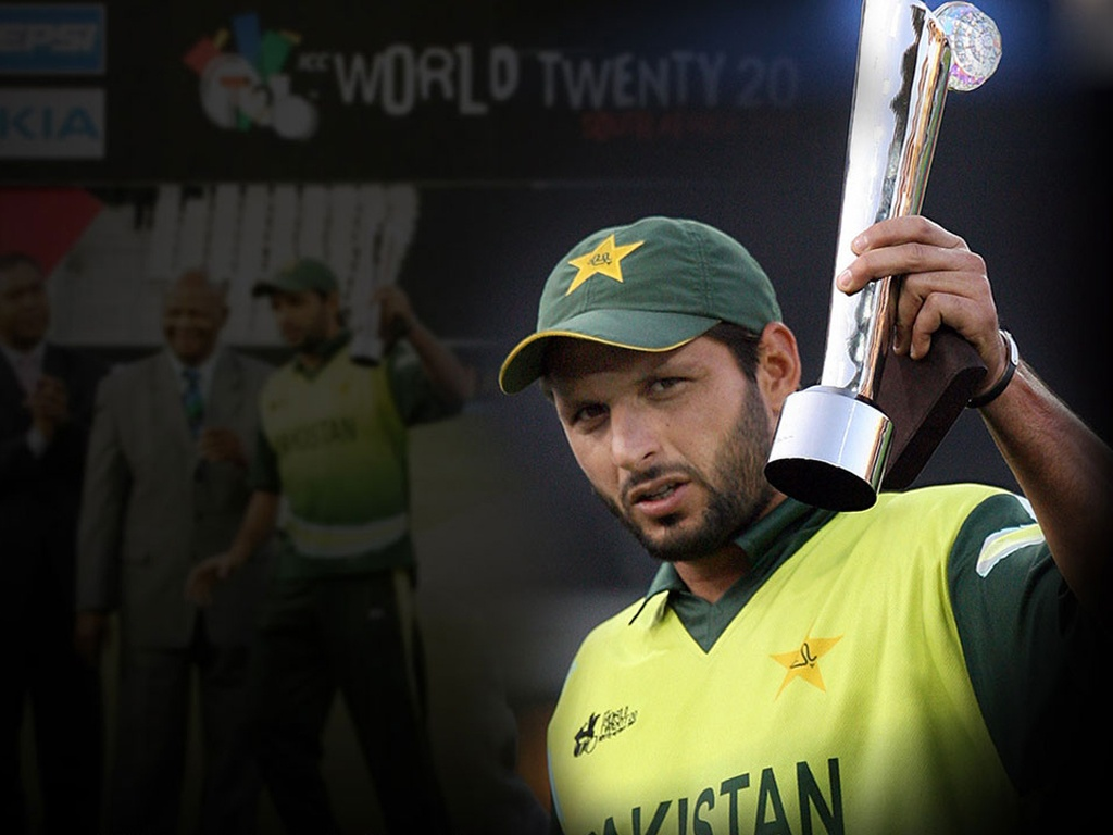 Boom Boom Afridi New HD Wallpaper 2013