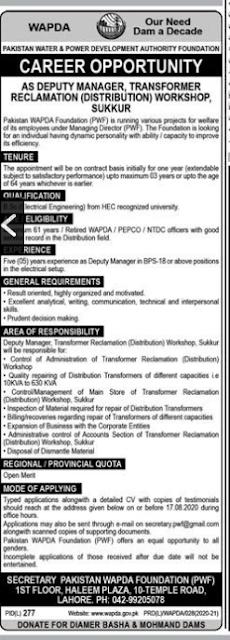 pakistan-water-and-power-development-authority-wapda-jobs-2020