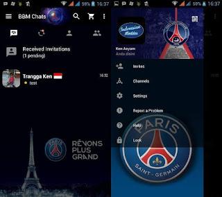 Download BBM mod Bola Terbaru 2017