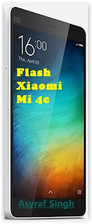 4c Guide To Flash MIUI On Bootloop / Bricked Xiaomi Mi 4c in Fastboot Mode via Flashtool. Root