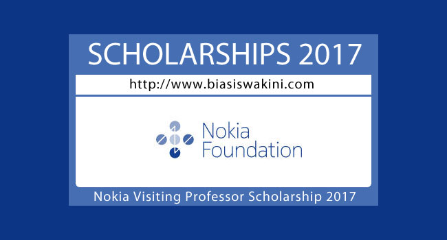 Nokia Visiting Professor Scholarship 2017