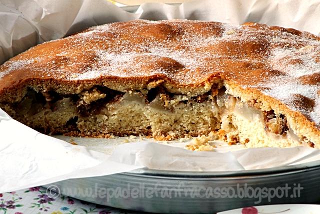 ricetta torta di pere