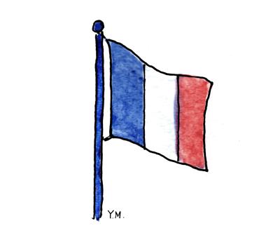 Flag by Yukié Matsushita