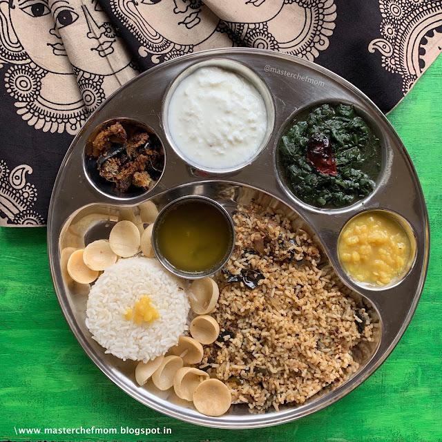 Thanjavur Style Keerai Kadanchathu