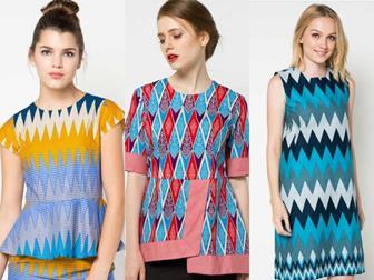Model Blus Batik Remaja Yang Banyak Diminati