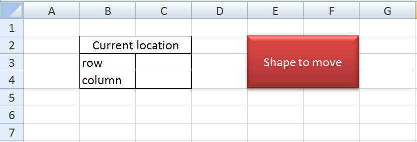 Do My Excel Blog: How to move a shape in Excel and retrieve its