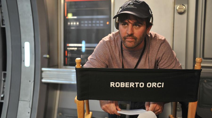 Roberto Orci pe platourile de filmare Star Trek Into Darkness