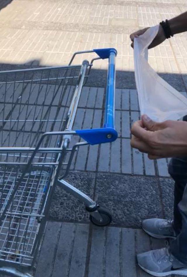 Chilenos crean Covert Cart, innovadora herramienta para evitar contagios en el súper