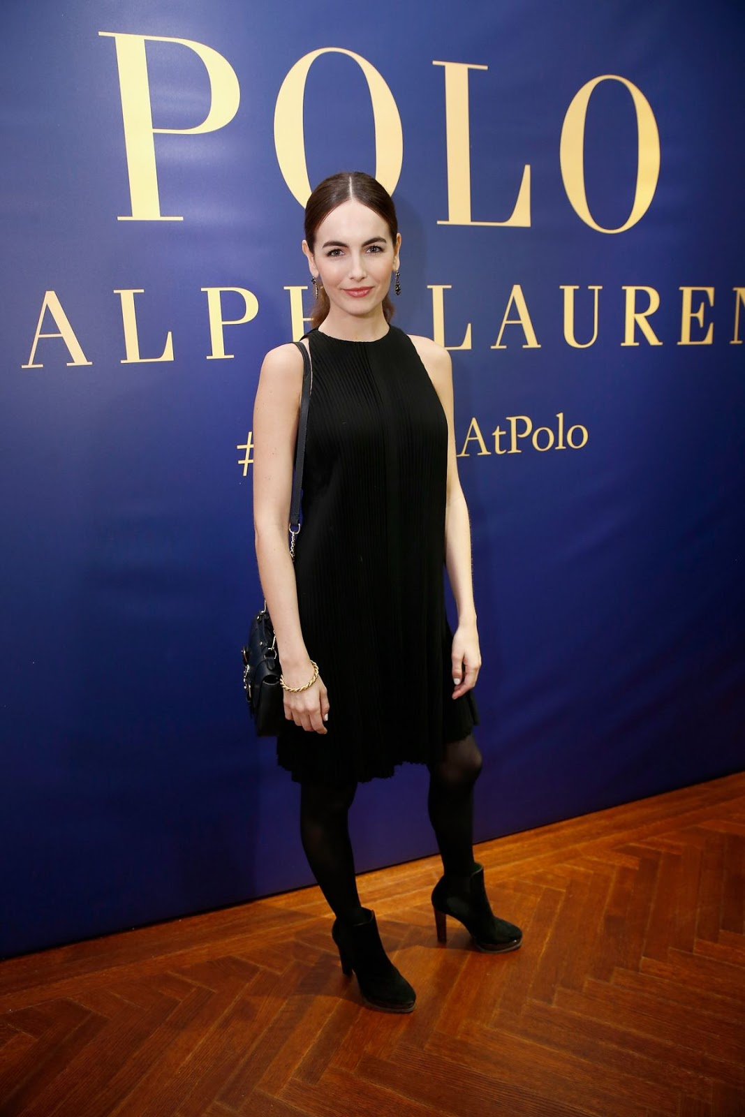 Camilla Belle at Polo Fashion Show in Los Angeles