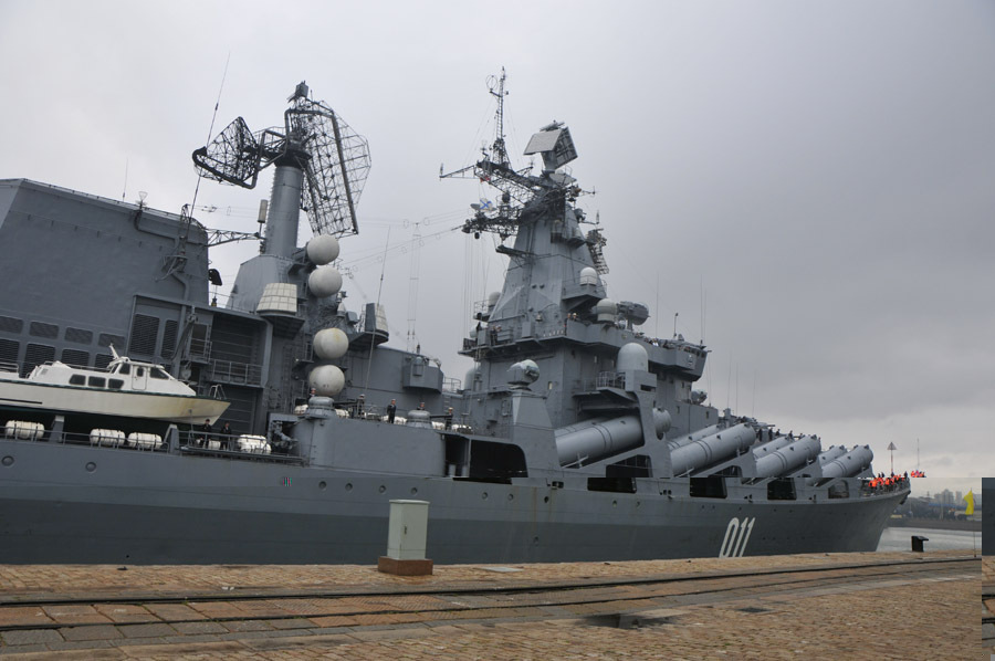 Russian Guided Missile Cruiser Varyag Arrives In China For Joint Exercise   Global Military Review