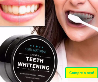 Clareador de dentes natural