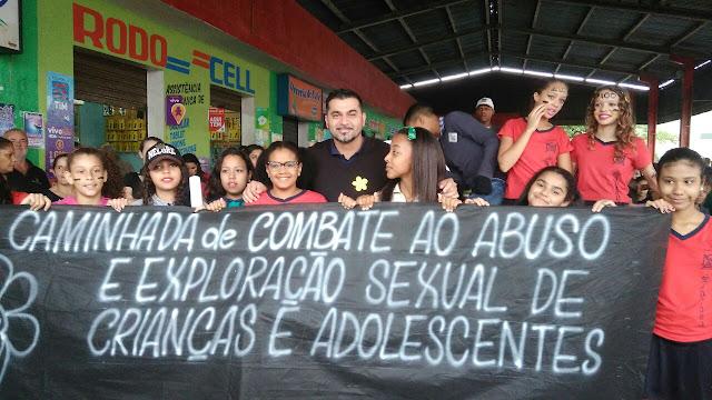 Sete Barras no Dia Nacional de Combate ao Abuso e à Exploração Sexual de Crianças e Adolescentes