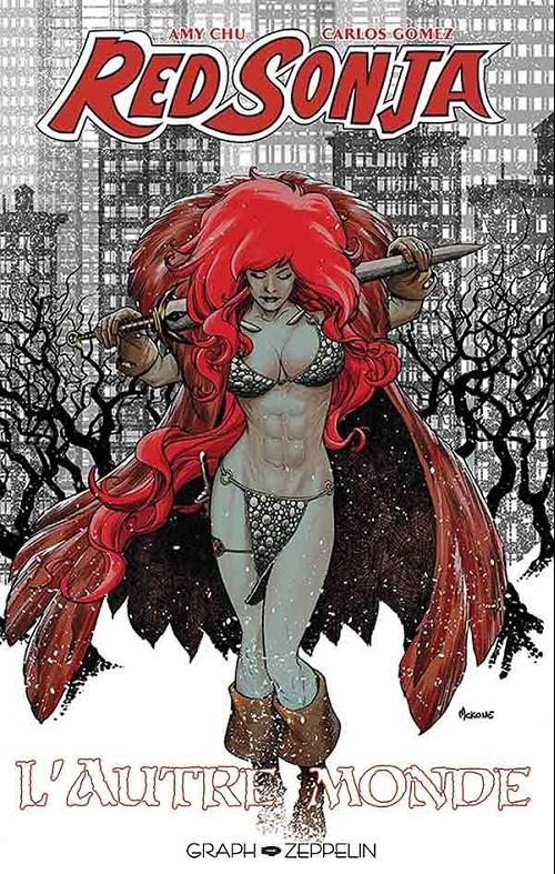 Red Sonja- L'autre monde - de Amy Chu, Carlos Gomez et Marcio Fiorito