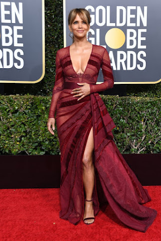 Halle Berry - The 76th Annual Golden Globe Awards in Beverly Hills - Sun Jan 06 2019