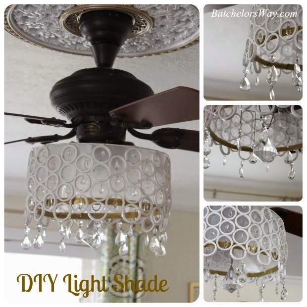 Batchelors Way: DIY Ceiling Fan Chandelier!