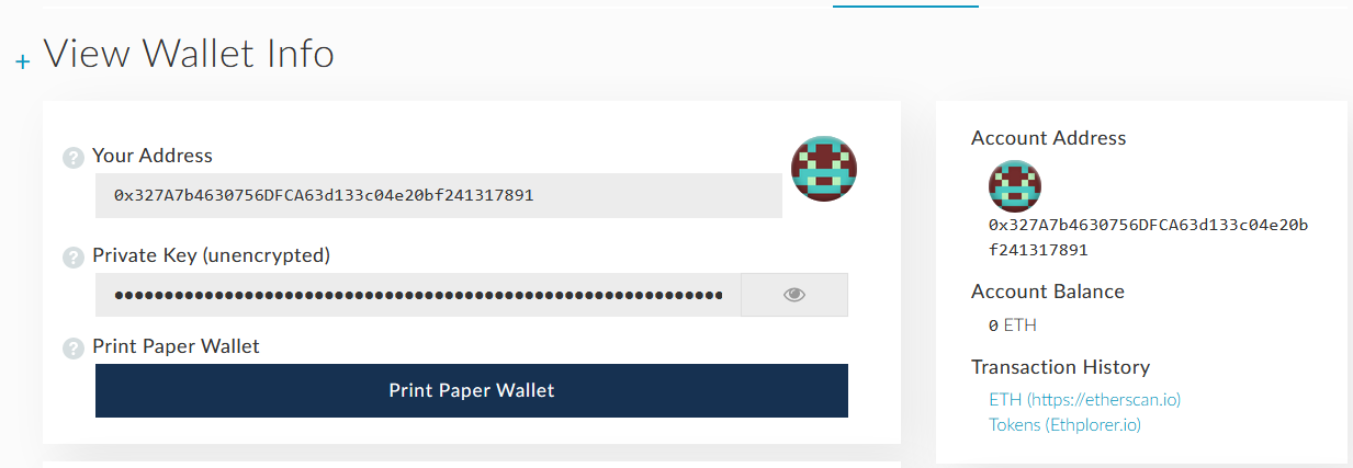View Cold Wallet Balance Using Paper Wallet Safely