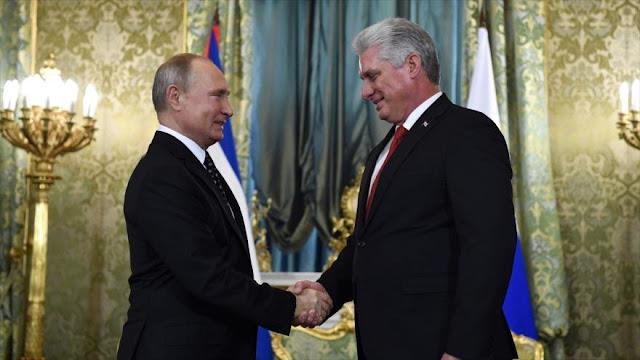 Rusia apoya fin del bloqueo económico de EEUU contra Cuba