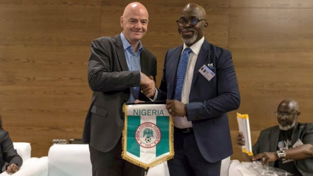NFF President Pinnick Talks About His FIFA Integrity Test