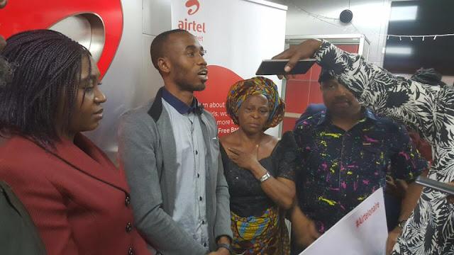 Chinonso won 10M Naira from the airtel RedHot promo!