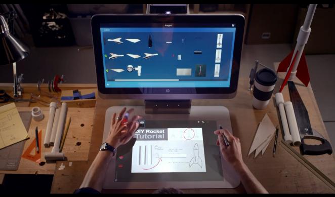 HP重新定義PC產品,3D列印、桌面投影All-in-One
