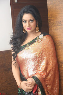 Udaya Bhanu lookssizzling in a Saree Choli at Gautam Nanda music launchi ~ Exclusive Celebrities Galleries 078.JPG