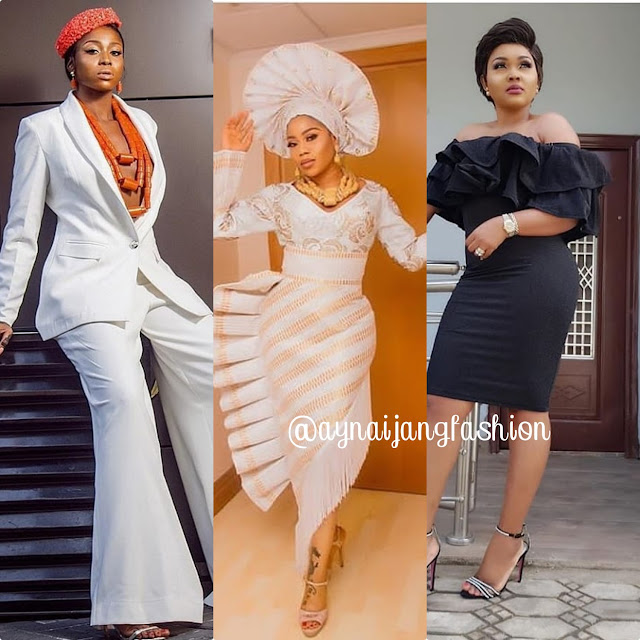 Nigerian Fashionista Celebrities 2018 Latest Styles