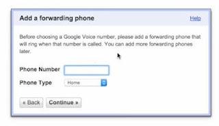 add a forwarding phone