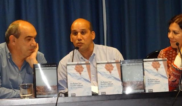 """Presentación en Madrid de """"Un beduino en el Caribe/ Beduino bat Karibe aldean"""" de Ali Salem Iselmu"""