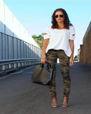 Como combinar un pantalón verde MILITAR de forma correcta