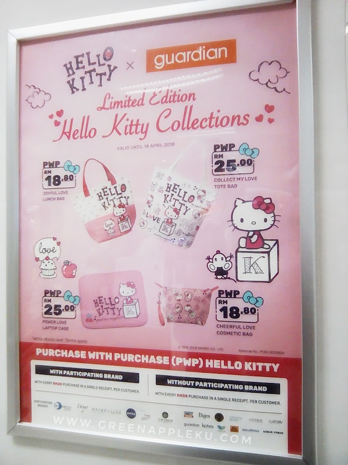 Limited Edition : Hello Kitty Collections at Guardian!