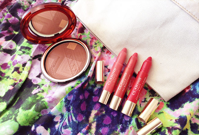Clarins Colours of Brazil collection blog review aimerose